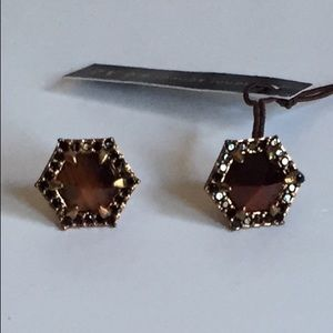 Henri Bendel Rose Gold Earring